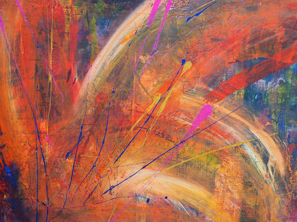 Abstract together bunt
